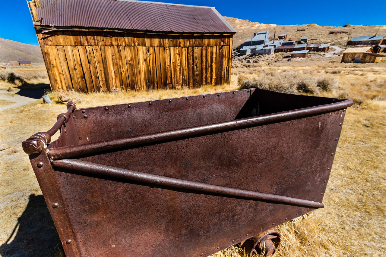 Bodie Ore Wagon