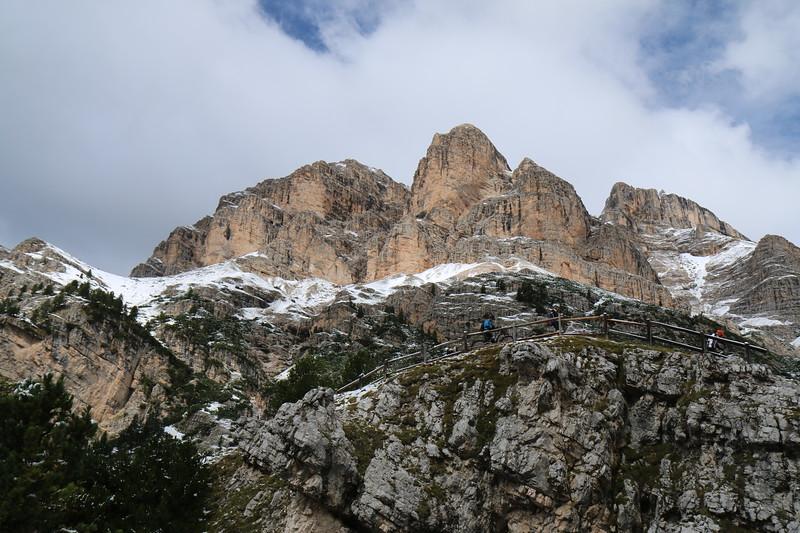 Rifugio Fanes to Rifugio Lagazuoi