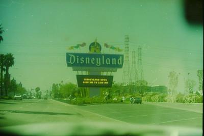 Di Disneyland/Universal/KnottsberryFarm 1995