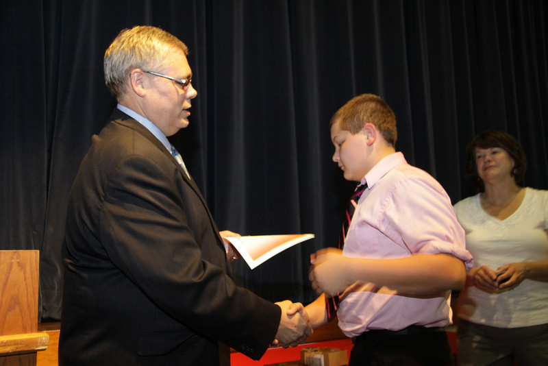 Awards Night 2012 - Student of the Year: Science Interactions 1