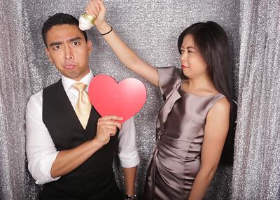 Wedding of Cheryl & Eric Photobooth Photos