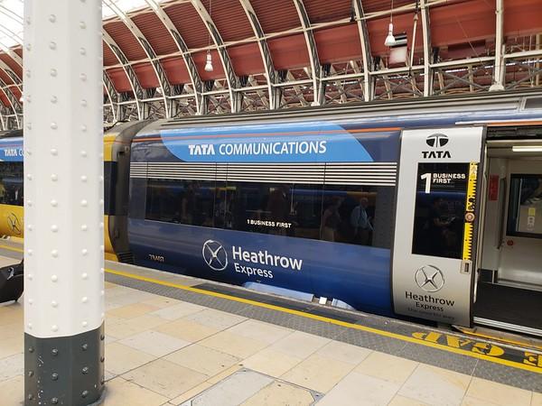 02-LHR & Train To Edinburgh