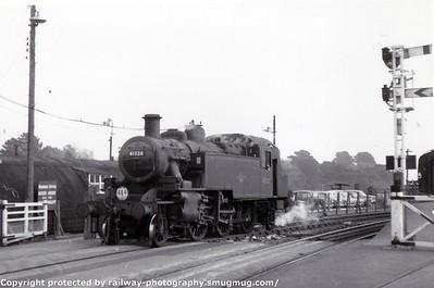 Brockenhurst-Lymington Pier service 1967