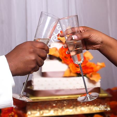 Tocarra & Derek Wedding day