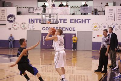 Boys basketball vs. HBR (2010 Plano Christmas Classic)