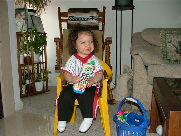 Riley Katz, May 2005.