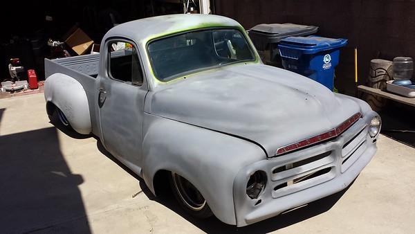 Jay's Studebaker truck