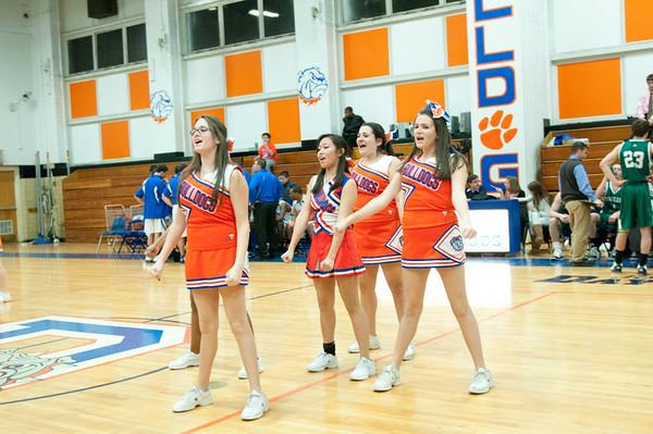 2011-02-03 Cheerleaders - Dayton vs New Providence