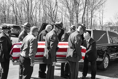 Funeral for PSP MCEO Scott Gorman