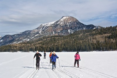 XC Ski at Williams Creek Reservoir