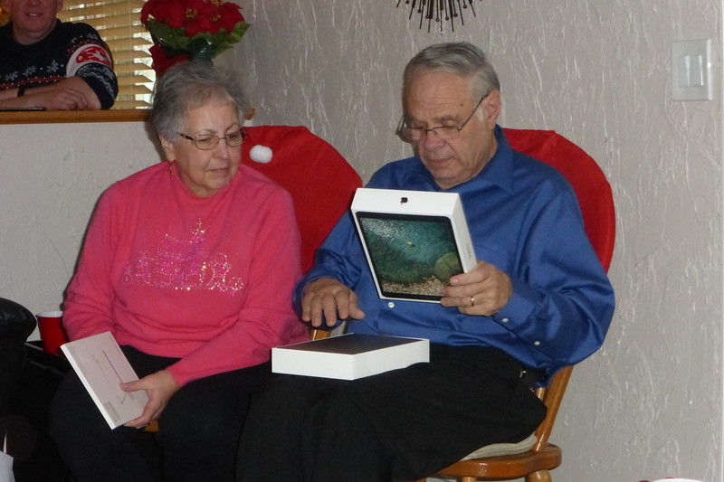 Bob received a new IPad from Beverly.