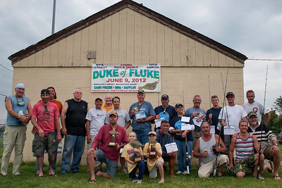 COMBS BAIT &TACKLE DUKE OF FLUKE 2012 WINNERS