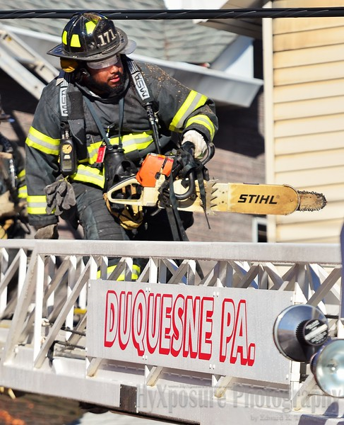 * Trib Total Media  Structure Fire City of Duquesne