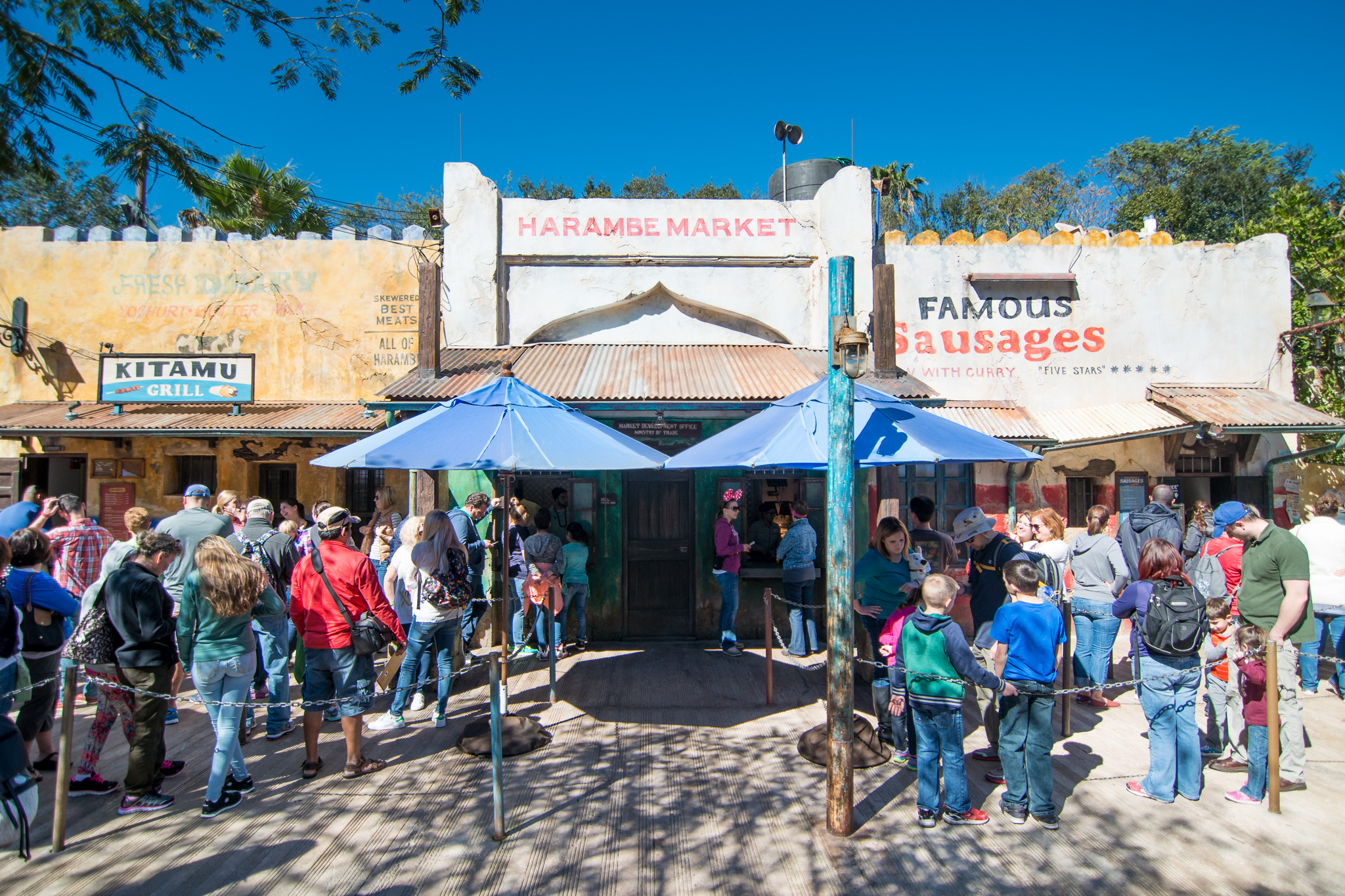 Harambe Market lunch at Disney's Animal Kingdom