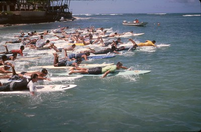 17th Annual Summer Surf Paddleboard Race 6-14-1997