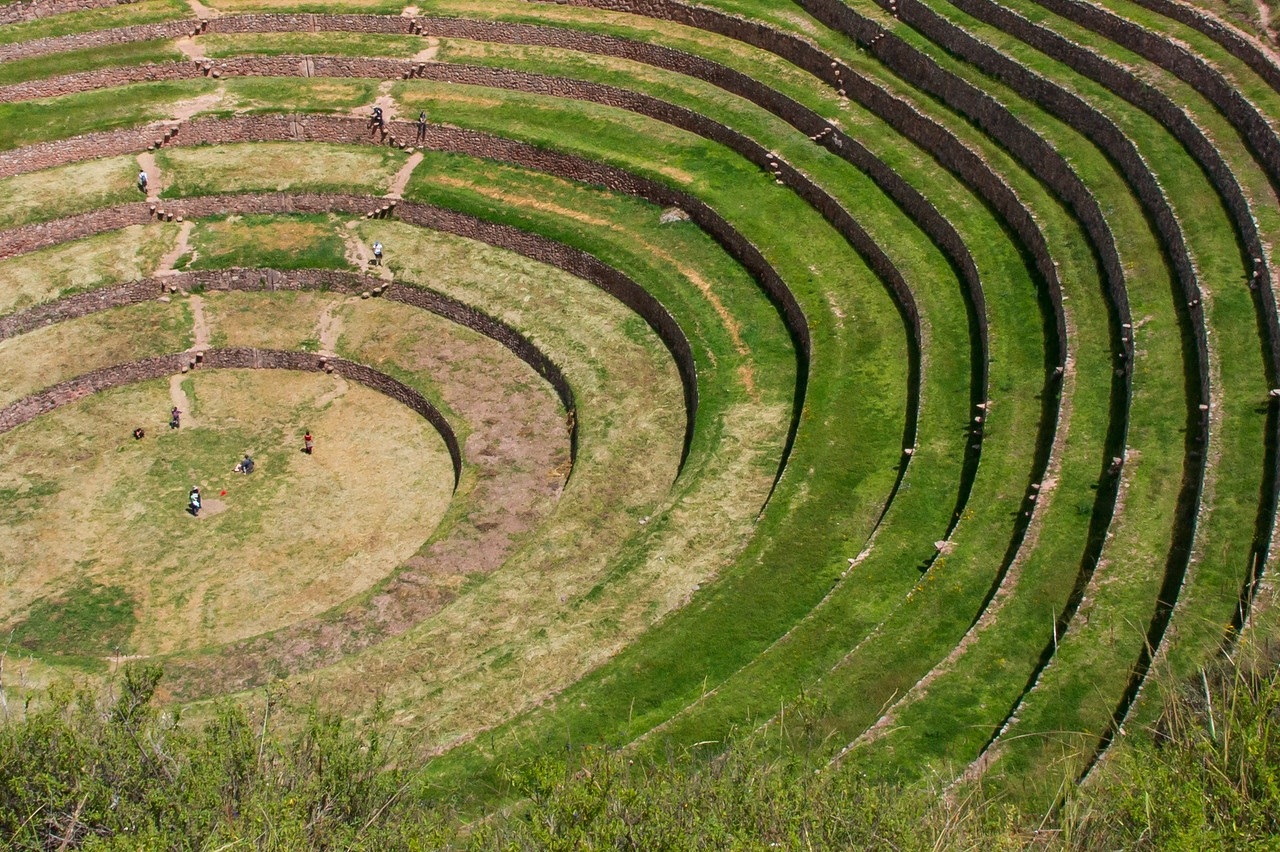Moray terraces