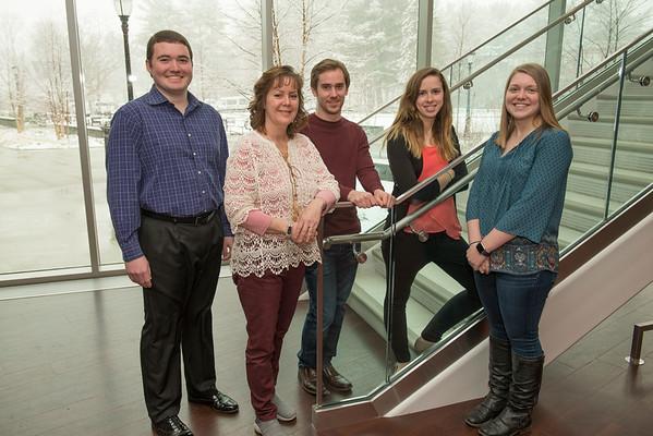 Psychology Department Grad Assistants, April 2018