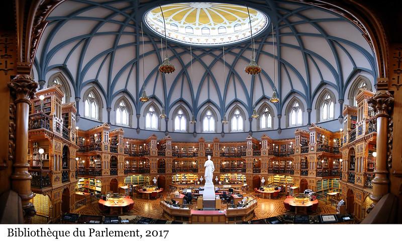 Library of Parliament - Bibliothèque du Parlement, 2017