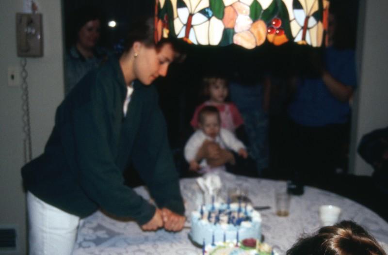 HCA-19920510-Lydia cutting cake.jpg