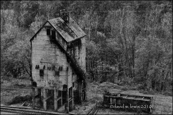 Coaling Tower, Thurmond, WV. 2008