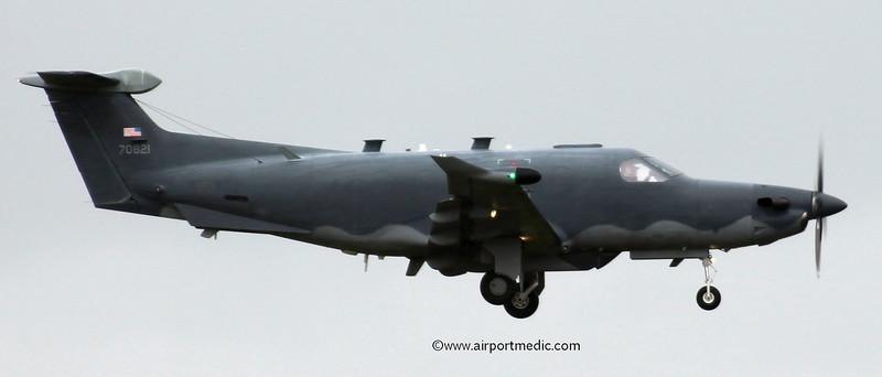 07-0821 Pilatus PC12/U28B USAF