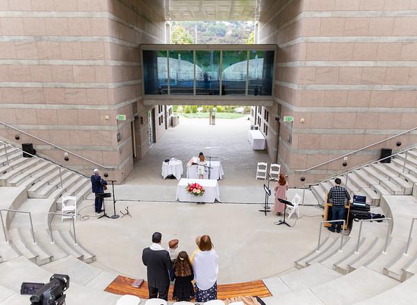 Tess Micro Mitzvah - Skirball Center Amphitheater