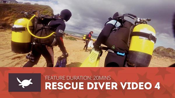 SDSDA Rescue Diver Videos
