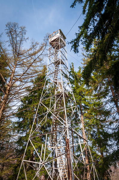 Fire Watch Tower in Allegheny National Forest