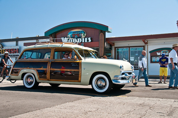 Woodies on Wharf 2013