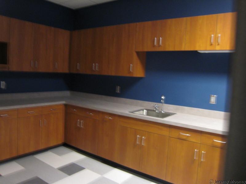 Student development kitchen area