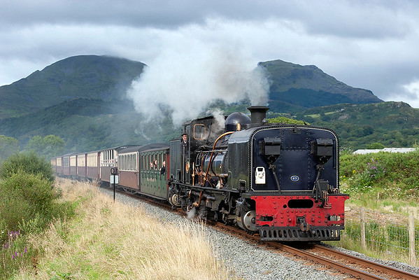 7th August 2012: Wales Day 1-Ffestiniog and Welsh Highland