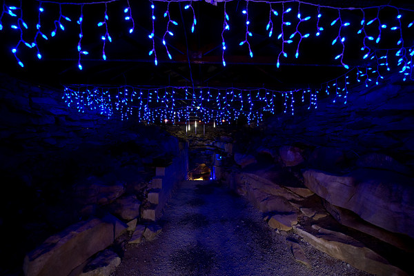 Santa's Underground Workshop at Rickwood Caverns State Park