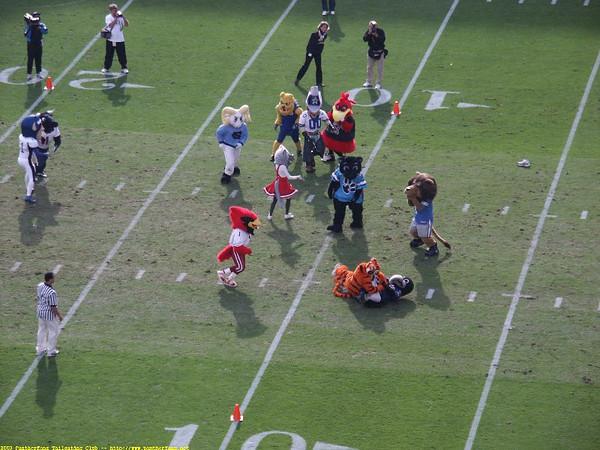 Panthers vs. Redskins November 16th 2003