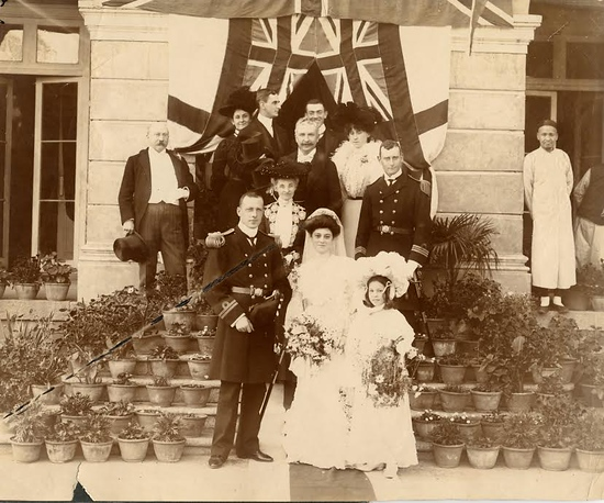EGW.Davidson's wedding day.