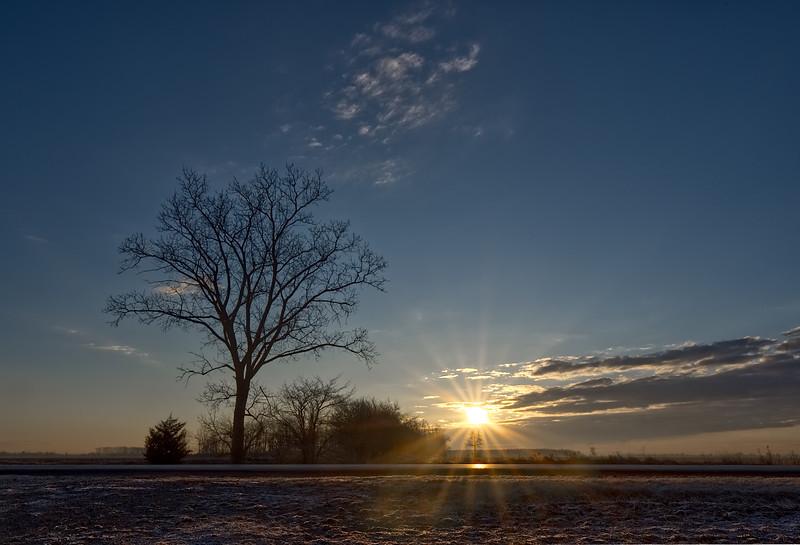 Sun Up.   Lambton Co Ontario