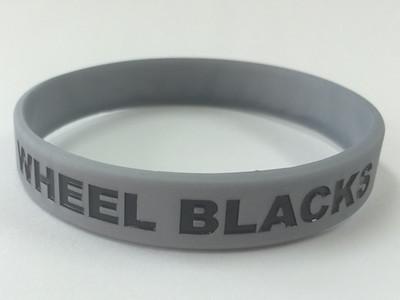 WHEEL BLACKSデボス加工リストバンド