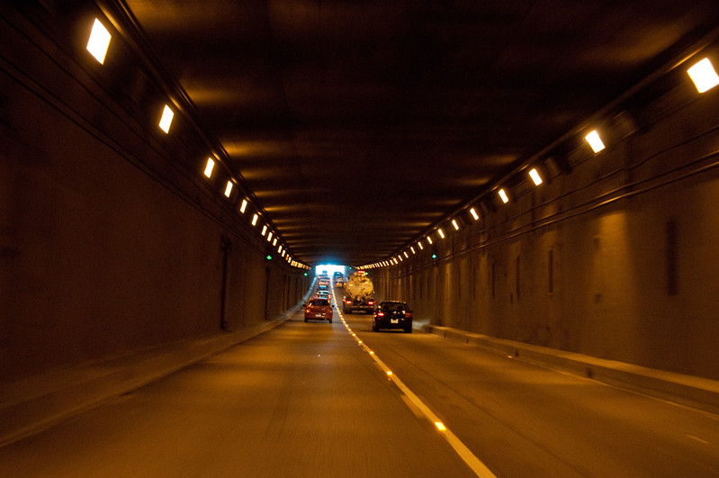 I like tunnels.