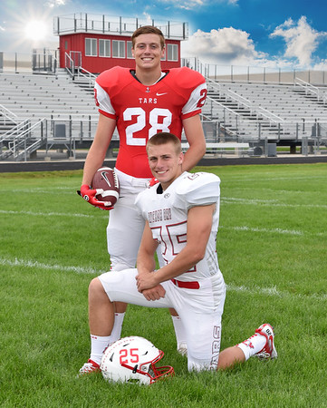 Luke & Logan Football Photos