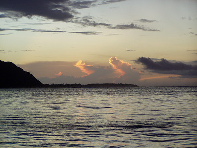 Moorea 2003 sunset