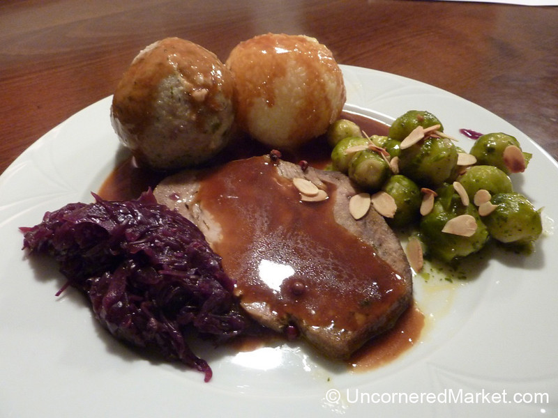 Rich Northern Bavarian Fare - Frickenhausen, Germany