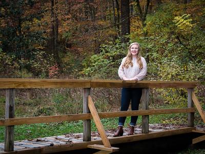 Natalie at UT Arboretum