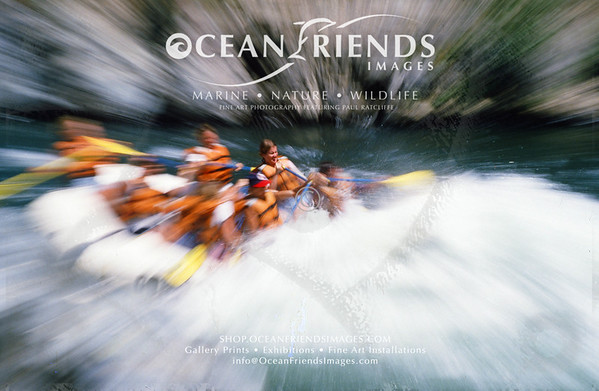 White Water River Rafting Prints
