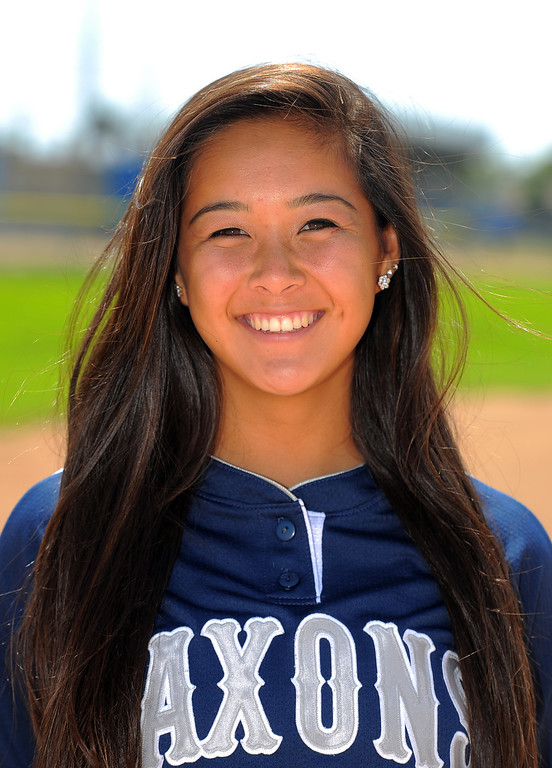 . North Torrance left-handed pitcher Sydni Overly is the 2014 Daily Breeze Softball Player of the Year. Photographed in Torrance, CA on Thursday, June 5, 2014. (Photo by Scott Varley, Daily Breeze)