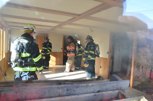Training burn 21 Alfred Dr.