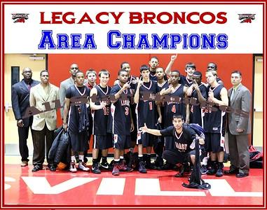 Legacy Mens Varsity vs Wichita Falls - Area Playoff - 2008-09