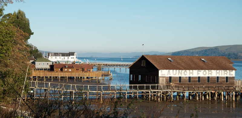 Inverness, Tomales Bay scene