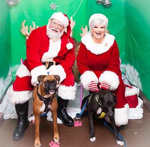161203 Photos with Santa