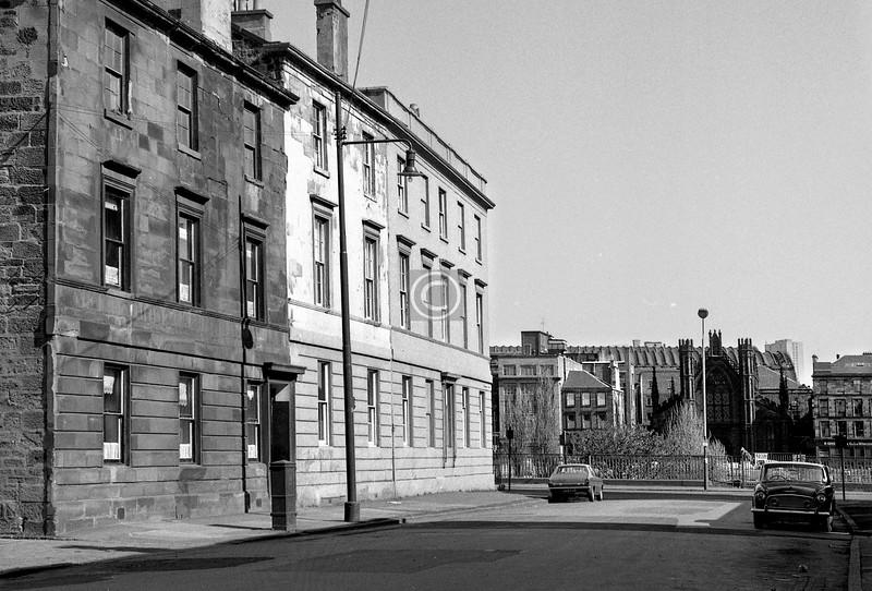 Nicholson St at Carlton Place.      April 1973