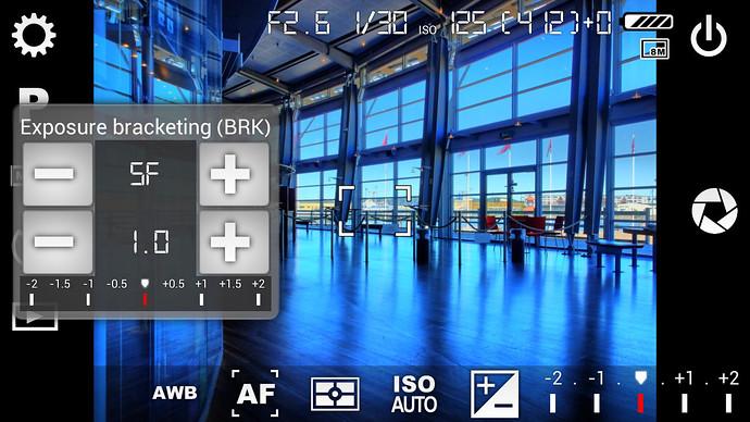 camera fv-5 app