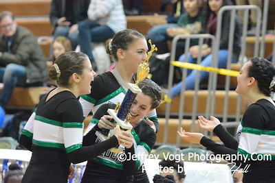 1-17-2015 Walter Johnson HS Varsity Poms at Damascus HS Invitational, MCPS Championship, Photos by Jeffrey Vogt Photography with Kyle Hall